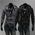 Envío gratis nuevos ocio coreano Mens autocultivo con capucha alta calidad M-XXL