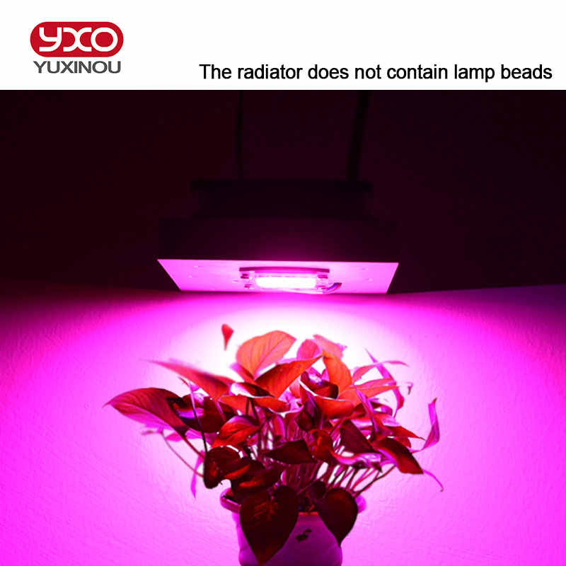 50 W 100 W 200 W 300 W 600 W LED Shim Aluminium Radiator dengan Fan LED Radiator untuk LED spektrum Penuh Growlight Lampu LED Aquarium