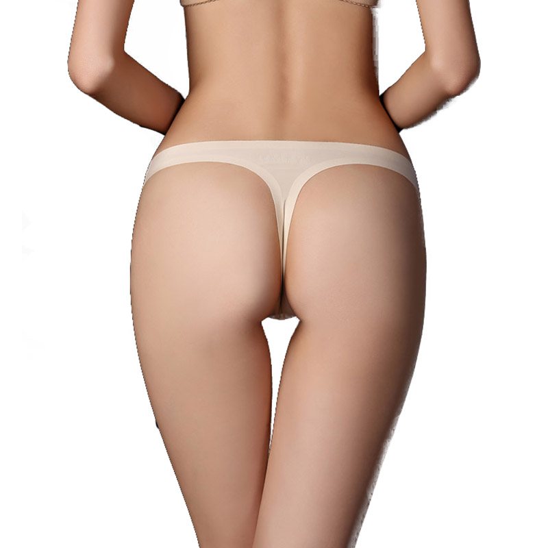 a3b2d8b89 2018 bragas ultradelgadas para mujer ropa interior de mujer tangas bragas  lencería Sexy sin costuras G-string G string Bikini intim C t-