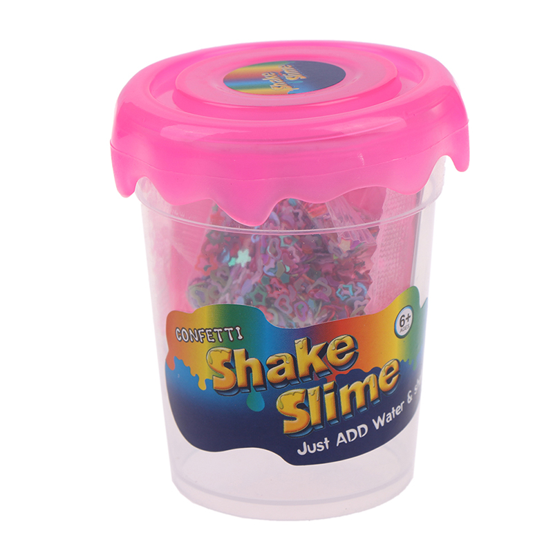 New Polymer Clay Magic Sand Supplies Slime Powder Make 80ml Glitter Shake DIY Lizun With Slime Box Just Add Water Slime Kit