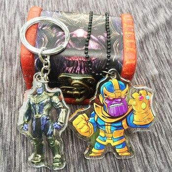 Акриловый брелок и кулон Танос Мстители: война бесконечности