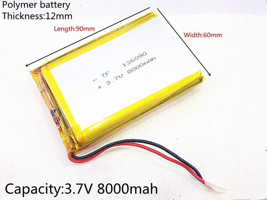 Charging-Treasure-Battery 8000mah Liter DIY 126090 Mobile Emergency-Power