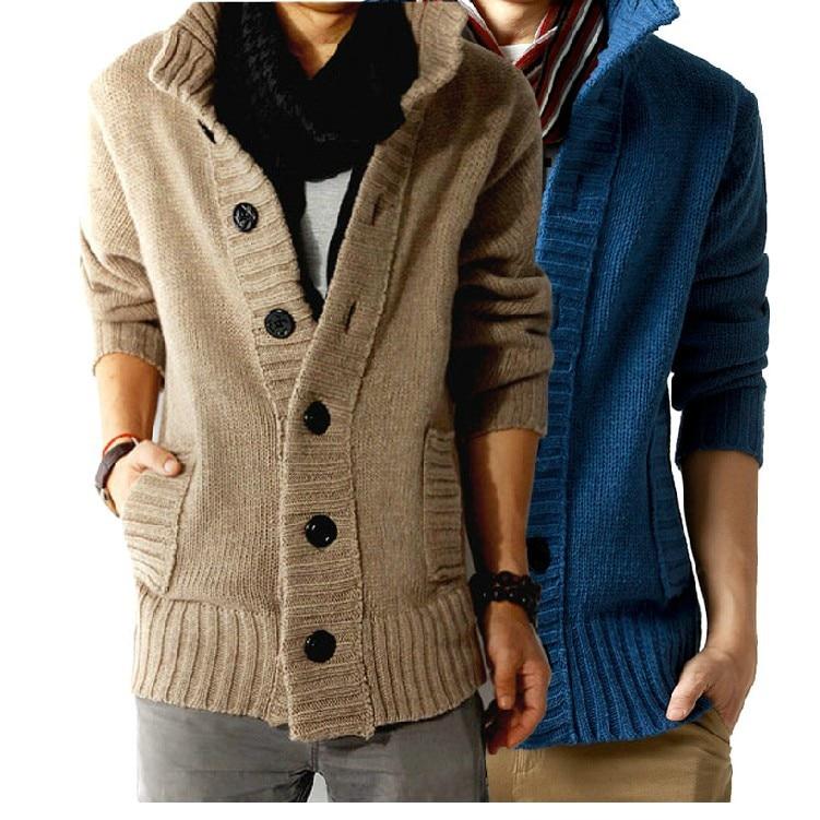 Fashion Full Mandarin Collar Solid Brand Clothing Large Size ...