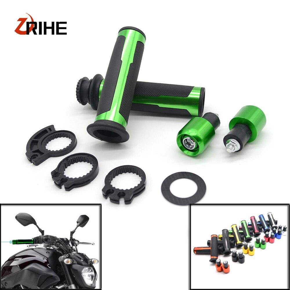 7/8 22mm Handlebar Sport Bike Motorcycle Rubber gel hand Grips For SUZUKI GSX-R600 GSX-R750 GSX-R1000 GSX-R1300 GSXR1300