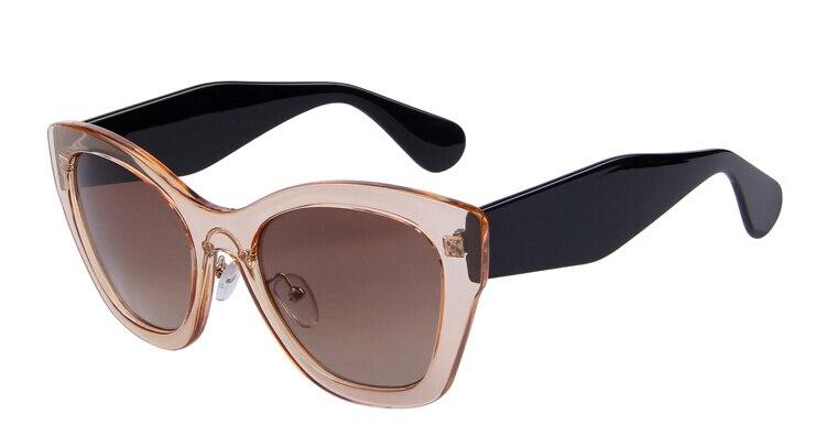 Бренд MERRY'S Butterfly очки модные солнцезащитные очки женские солнцезащитные очки «кошачий глаз» высокое качество Oculos UV400 - Цвет линз: C04 Brown