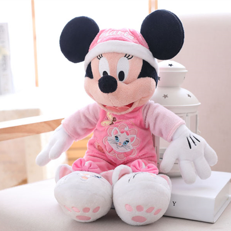 45cm Children Plush Doll New arrival Hot sale Minie Mouse Stuffed Animals Plush Toys For Children's Gift Drop Shipping