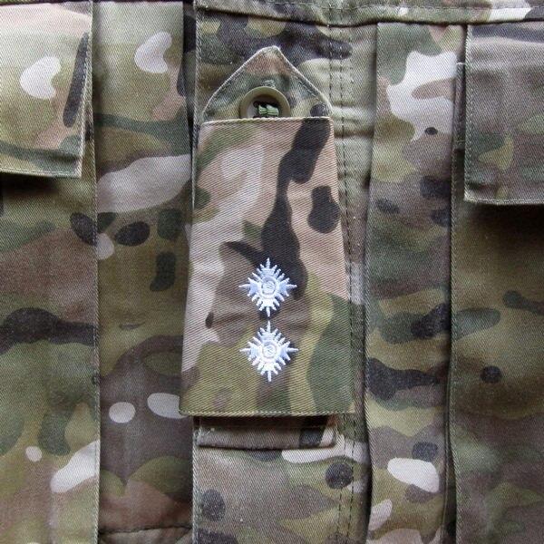 be230b95b3a8d Exército britânico Bordado O Tenente Branco Slides Rank Multicam MTP patch  Badges Moral Táticas Militares B3098