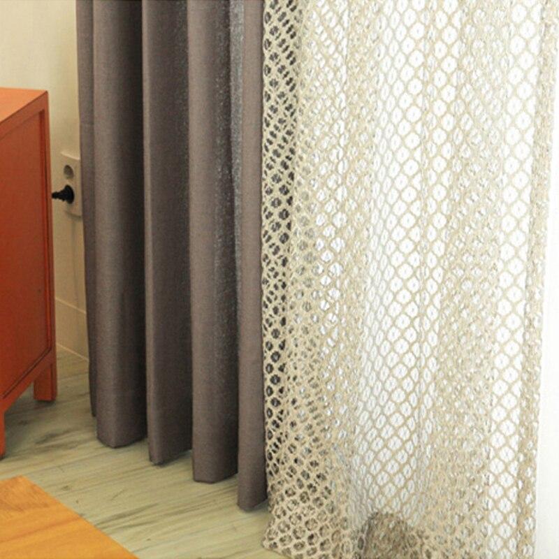 retro cellulaire nest voile gordijnen woonkamer slaapkamer hotel decor sheer gordijn en tule voile maat gedrukt cortinas in retro cellulaire nest voile