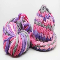Hoomall 250g Lot Thick Yarn For Knitting Soft Smooth Woolen Yarn Handmade Sweater Blanket Hat Scarf