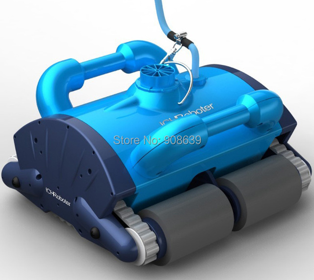 China original robot swimming pool cleaner  (Wall Climbing+Remote Controller+Working Area:100m2-200m2)