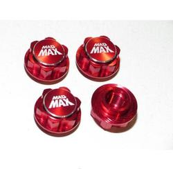XMAXX TRAXXAS X-MAXX WHEEL ADAPTER FOR HPI BAJA TRUCK TIRES RED