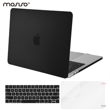 Mosiso Laptop Protector Hard Case for Macbook Pro 13 w out Touch Bar Retina A1706 A1989