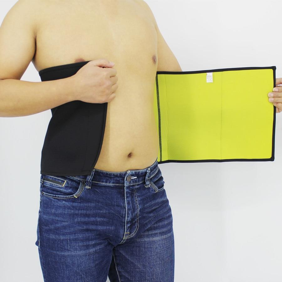 Slimming Shapers Belts Men Body Shapers Belt  Waist Trimmer Natural Weight Loss Neoprene Workout Belt Compression Corset