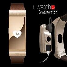 ใหม่ต้นฉบับUนาฬิกาUminiโทรศัพท์Androidสมาร์ทนาฬิกาMTK2502D Android4.4และสร้อยข้อมือนหัวใจกล้องระยะไกลs mart w atch