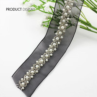 Lack Beaded Rhinestones Pearls Lace Ribbon Trim Applique Braided Scrapbooking Venise Embossed Decorated Sewing Supplies 9yd
