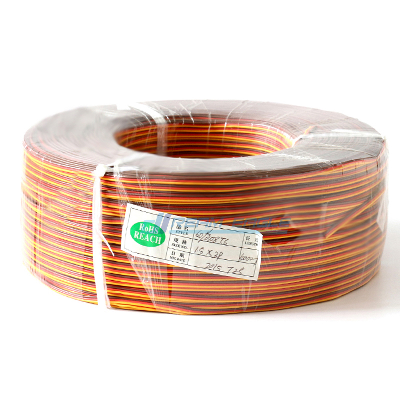 5M 26AWG Servo Extension Cable wire Futaba Aircraft Model Wiring 30 cores cord lead