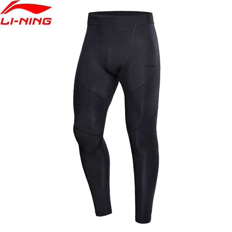 Li-Ning Men Professional Jogger Running Layer Pants Tight Fit Elastic Comfort Quick Dry LiNing Sports Pants AULN023 MKY356