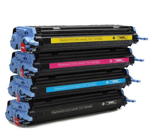 Farbe toner patrone Q6000A Q6001A Q6002A Q6003A verwendet für HP Color Laserjet...