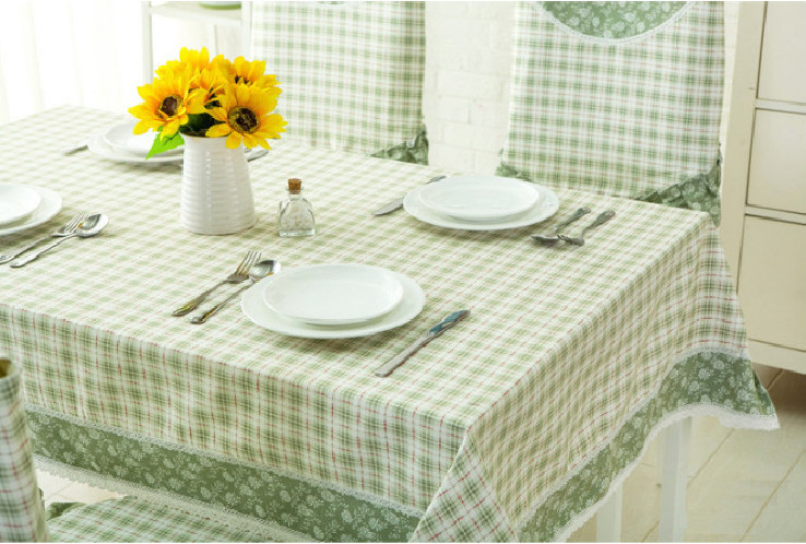 Nappe De Table Ikea Tablecloth Chair Cover Table Round Tablecloths Lace  Cloth Floral Fabric Shabby Chic Wedding Green Plaid In Tablecloths From  Home ...