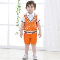 Trajes de los niños para Las Bodas Ropa de Caballero de Los Muchachos de La Boda de Cumpleaños Bebé Vestido Formal Ropa de Niño Chico Ropa de Niños
