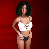Pinklover No tax 158cm Lifelike Real Sex Doll, Full Size Silicone with skeleton Love Doll, Oral Vagina Pussy Anal Adult Doll