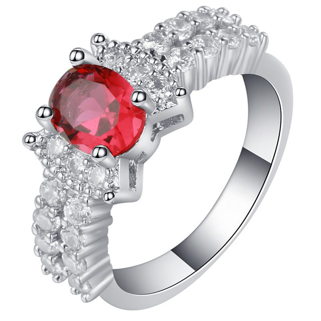 Marry Finger Rings With Aaa Cubic Zircon High Quality Shiny Girl