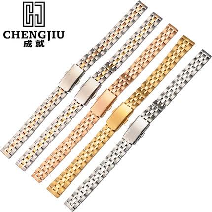 Stainless Steel 10 12 14 16 18 20 mm Ladie Watch Strap For Daniel Wellington Bracelet Brand Womens Metal Watch Band все цены