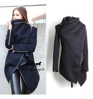 2017 Women Trench Coat Casual  Long Sleeve S-4XL Windbreaker Loose for