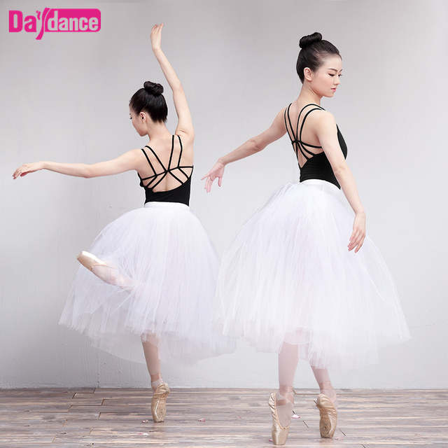 5bd8c7c932578 Long Ballet Tutu White Ballerina Tutus Women Lyrical Tulle Ballet Skirt  With Underpants-in Ballet from Novelty & Special Use on Aliexpress.com |  Alibaba ...