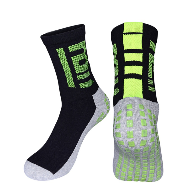 Sports Towel Socks: Outdoor Men Football Socks Short Tube Thicker At The End