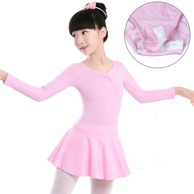 32b0644c434c Online Shop leotards gymnastics for girls long sleeve ballerina ...