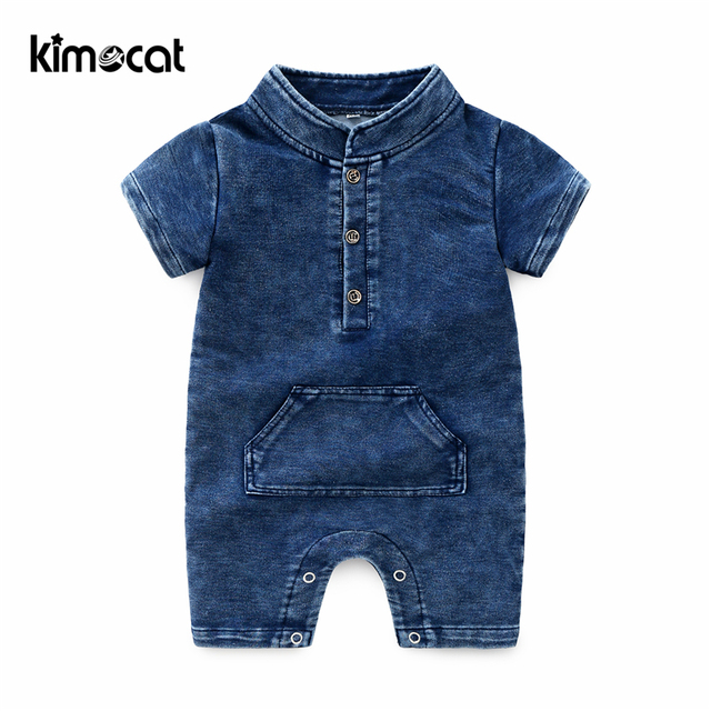 Kimocat Baby Boy Clothes Baby Born Infant Lucky Child Onesie Baby Clothes Newborn Organic Cotton Pasgeboren Baby Kleding Rompers