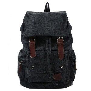 Image 3 - حقيبة ظهر رجالية على الموضة حقيبة كتف حقيبة ظهر مدرسية حقيبة سفر