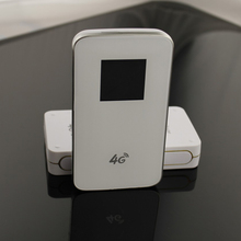 El Envío Gratuito! Banco de la energía Portable 3G 4G LTE CAT4 Desbloqueado 150 mini 150mbps WIFI hotspot WIFI router con la tarjeta sim ranura