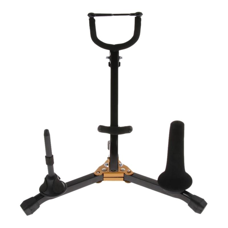 Foldable Saxophone Bracket Saxophone Display Bracket Multi-Function Foldable Saxophone Stand Holder 40*45cm
