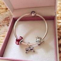 AAA Zircon Sao Quyến Rũ Bracelet đối với Phụ Nữ Fit Châu Âu Bracelet & Bangles Trang Sức DIY Làm Phụ Kiện & Pumpkin hạt & ngọc trai