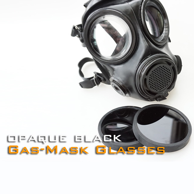 5 Colors Glasses For Gas Mask FMJ08