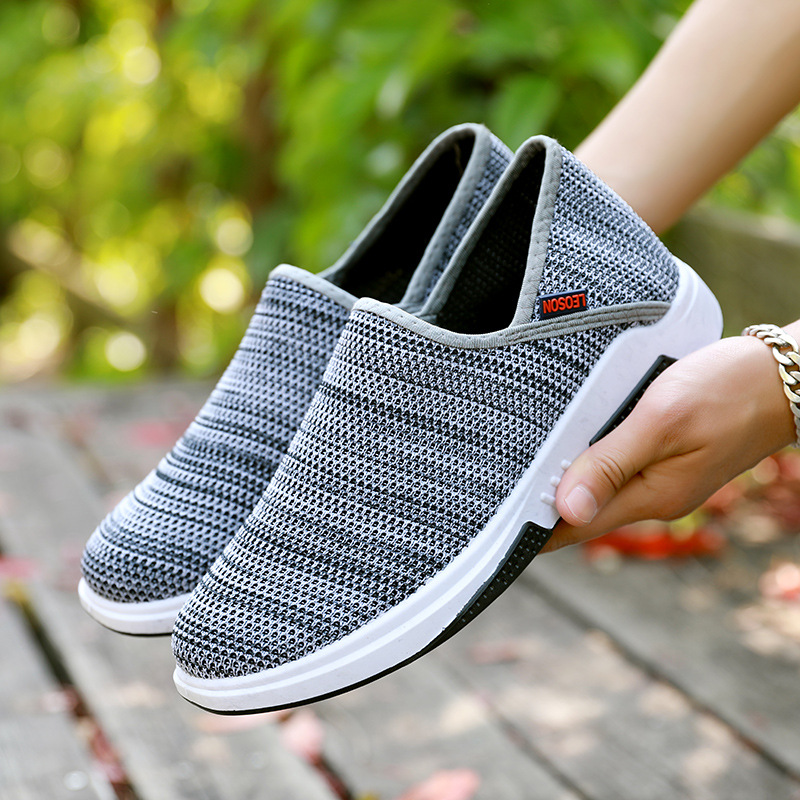 Shoes Women Sneakers Spring Flat with Mesh Loafers Causal Unisex Light Shallow Breathable Ladies Shoes Mixed Colors Large Size