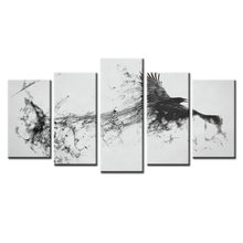 5Pieces/set Movie poster series Wall Art For Wall Decor Home Decoration Picture Paint on Canvas Prints Painting/Abstract-15(China)