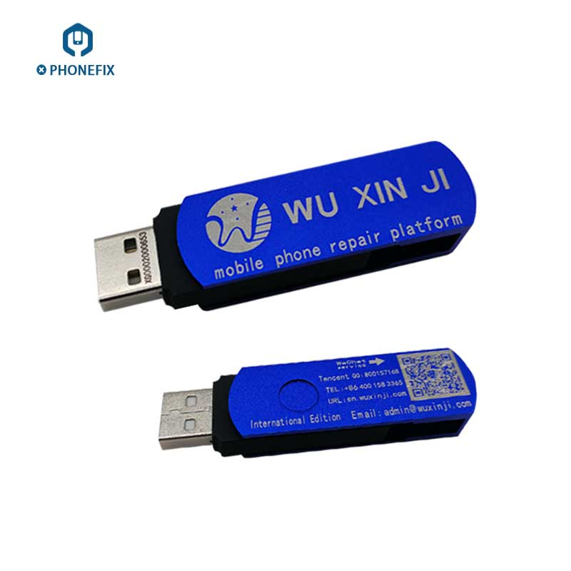 VIPFIX Five star WUXINJI USB Dongle For iPhone Samsung Logic Board Schematic Diagrams phone motherboard service