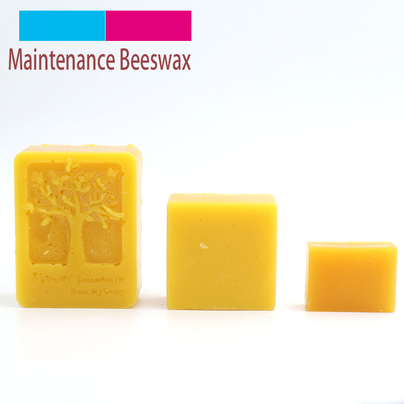 1pcs Organic Natural Pure Beeswax 15/45/95g Honey Wax Bee Cosmetic Maintenance Wood Furniture Polishing Waxing Protect