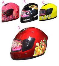 Motorcycle Helmet 2015 HOT Good Quality Full Face Helmet For Children 4 Choices Kids Helmet Freeshipping.