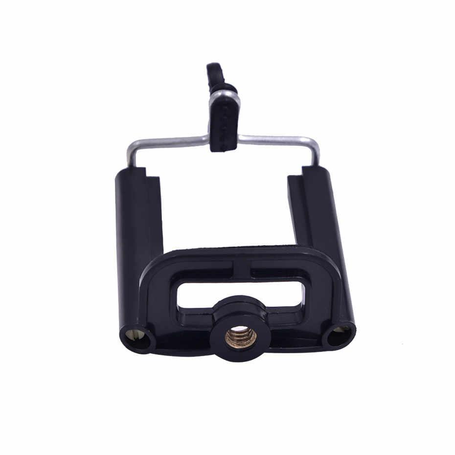 אוניברסלי נייד טלפון קליפ מחזיק הר Bracket מתאם עבור Smartphone טלפון סלולרי מצלמה חצובה סטנד הר מתאם חדרגל