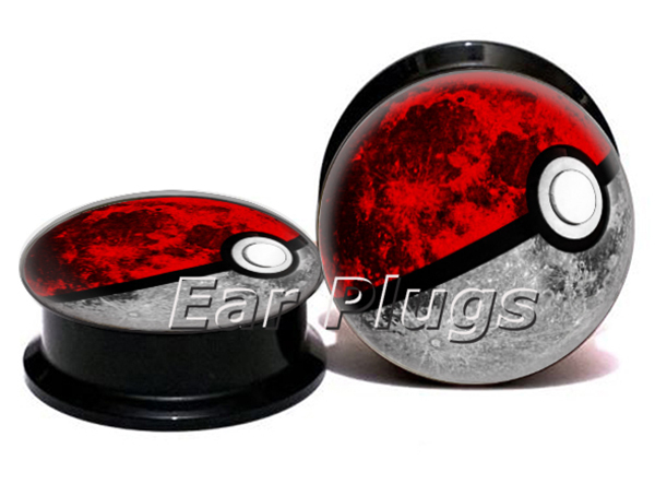 Wholesale poke earth plug gauges acrylic screw ear plug flesh tunnel piercing body jewelry ASP0764