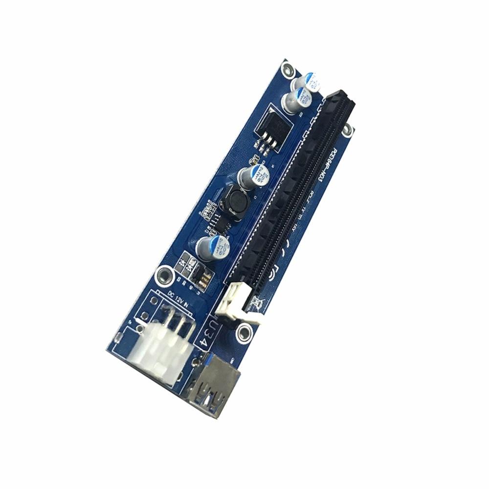 60cm USB 3.0 PCIe Tarjeta vertical PCI-E Express 1x a 16x Extensor - Cables de computadora y conectores - foto 3