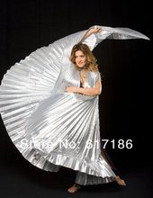 Belly Dance ISIS WINGS Silver-solid colour