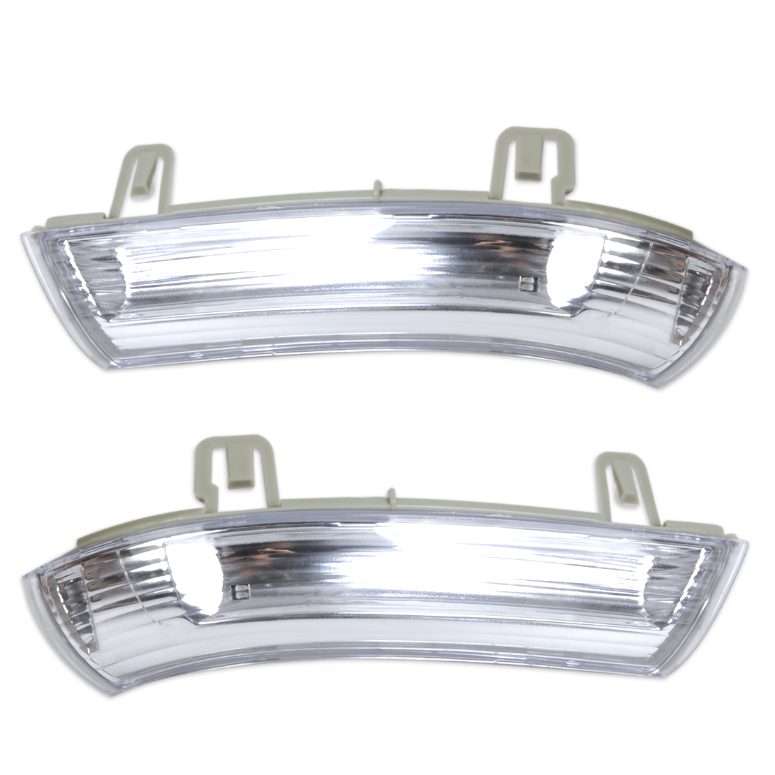 beler Left + Right Mirror Indicator Turn Signal Light Lamp for VW GOLF GTI JETTA MK5 PASSAT RABBIT EOS 1K0 949 101 1K0 949 102 abs mirror cover chrome matt painted cap side mirror housings for volkswagen jetta golf 5 passat b6 ct