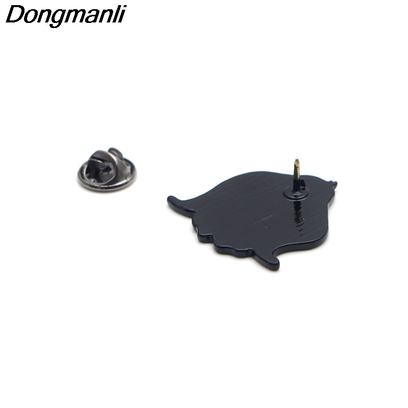 P2776 Dongmanli Cute Dumbo Elephant Metal Brooches and Pins Enamel Pin for Backpack Bag Clothes Badge Brooch Collar Jewelry in Brooches from Jewelry Accessories