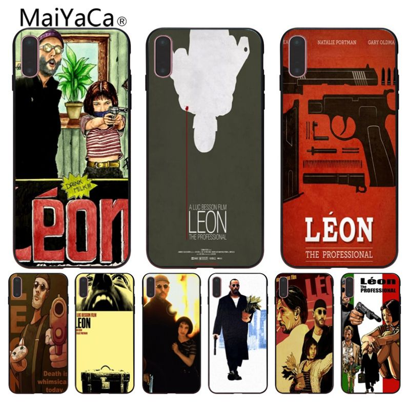 MaiYaCa Jean Reno Leon On Sale Luxury Cool Phone Accessories Case For i