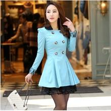 Куртки женщин новый большой размер женской моды в длинный участок Корейской Тонкий Весна ветровка куртка женщин бесплатно доставка